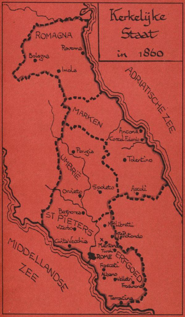 Kerkelijke staat in Italië 1860